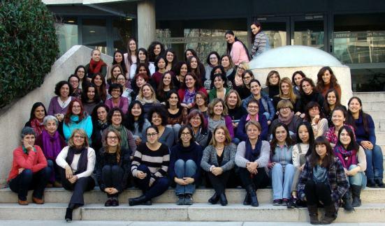 Cortesía de las mujeres del ICMAB-CSIC