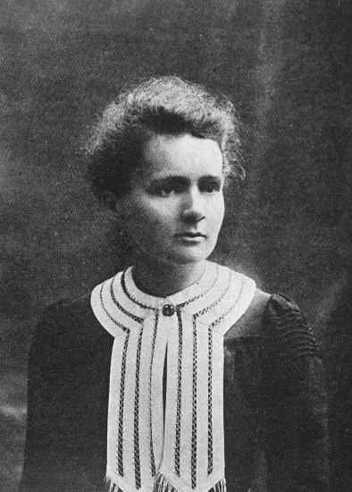 M0002559 Portrait of Marie Curie [1867 - 1934], Polish chemist Credit: Wellcome Library, London. Wellcome Images images@wellcome.ac.uk http://images.wellcome.ac.uk Portrait of Marie Curie [1867 - 1934], Polish chemist, wife of Pierre Curie Half-tone Published:  -   Copyrighted work available under Creative Commons by-nc 2.0 UK, see http://images.wellcome.ac.uk/indexplus/page/Prices.html