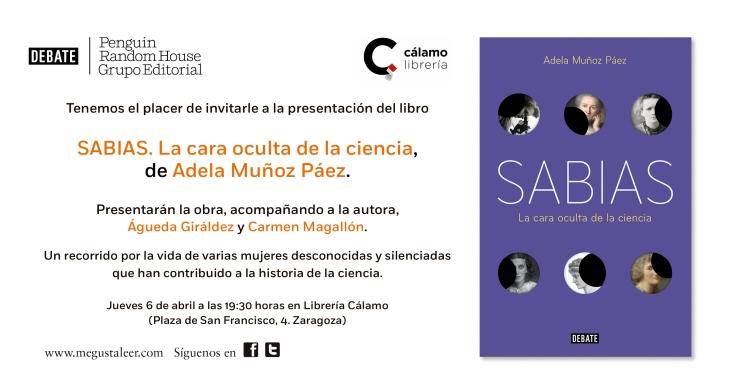 INVITACION Sabias Zaragoza (1)